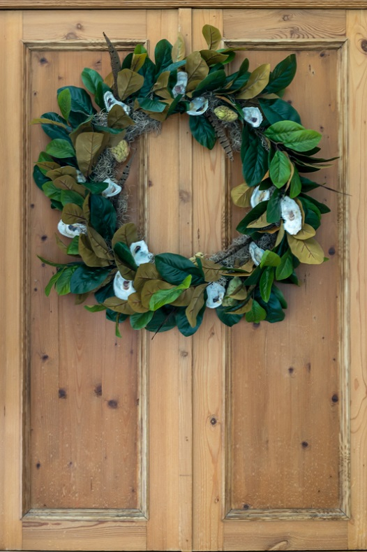 Magnolia fall wreath