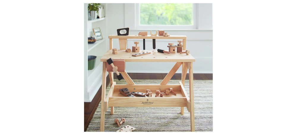 Wooden Toy Tool Bench
