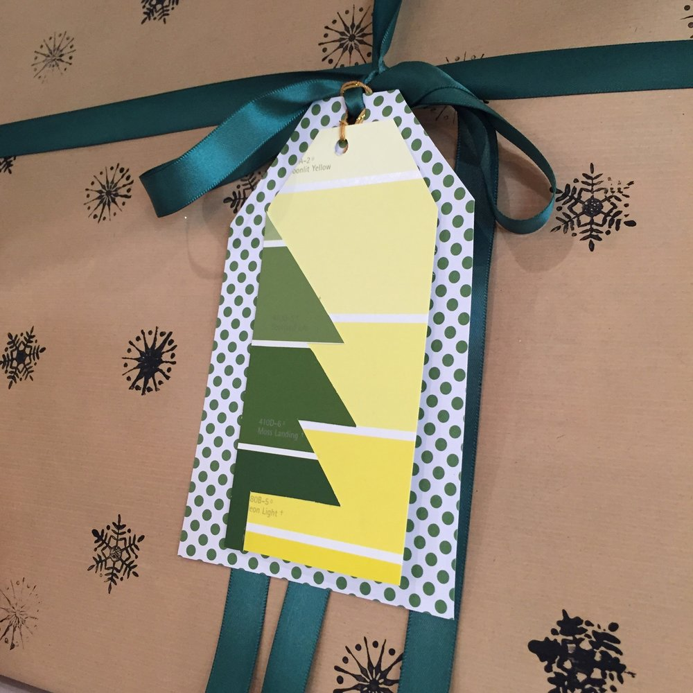 Easy DIY Christmas Gift Tags