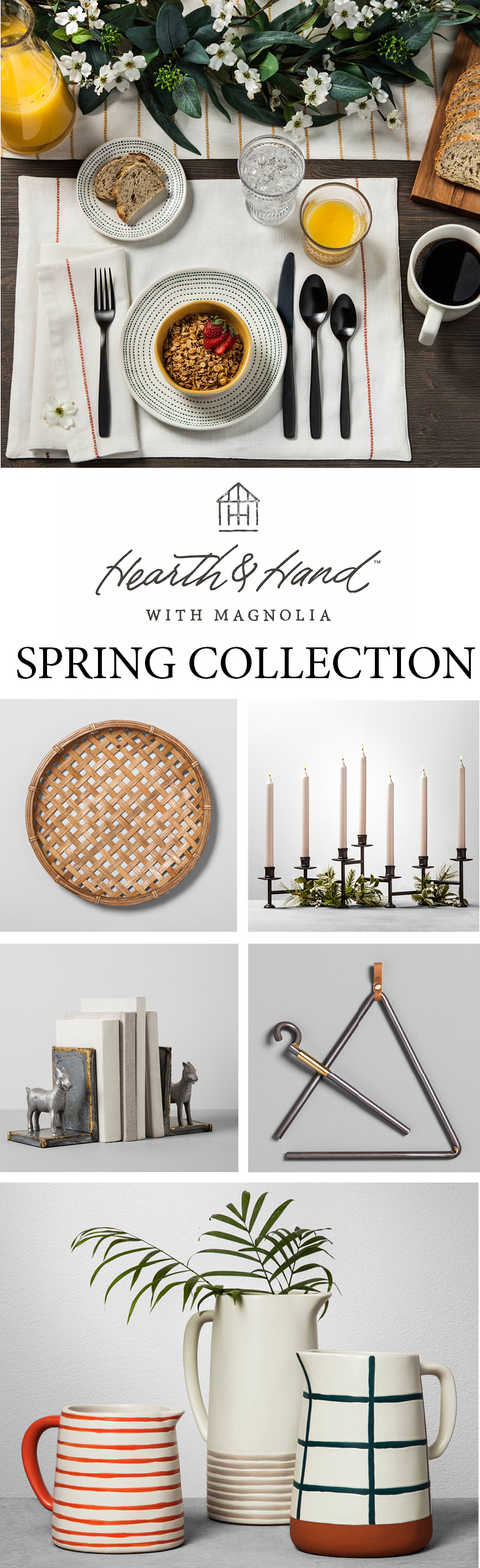 Hearth and Hand Spring Collection