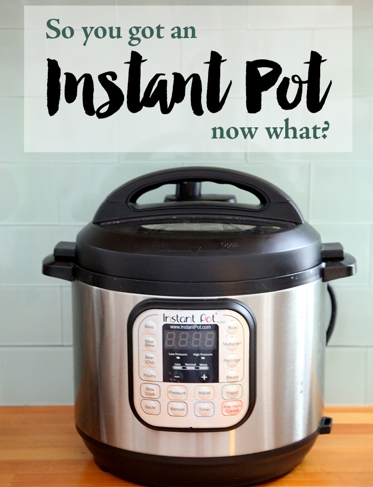 so you got an instant pot now what