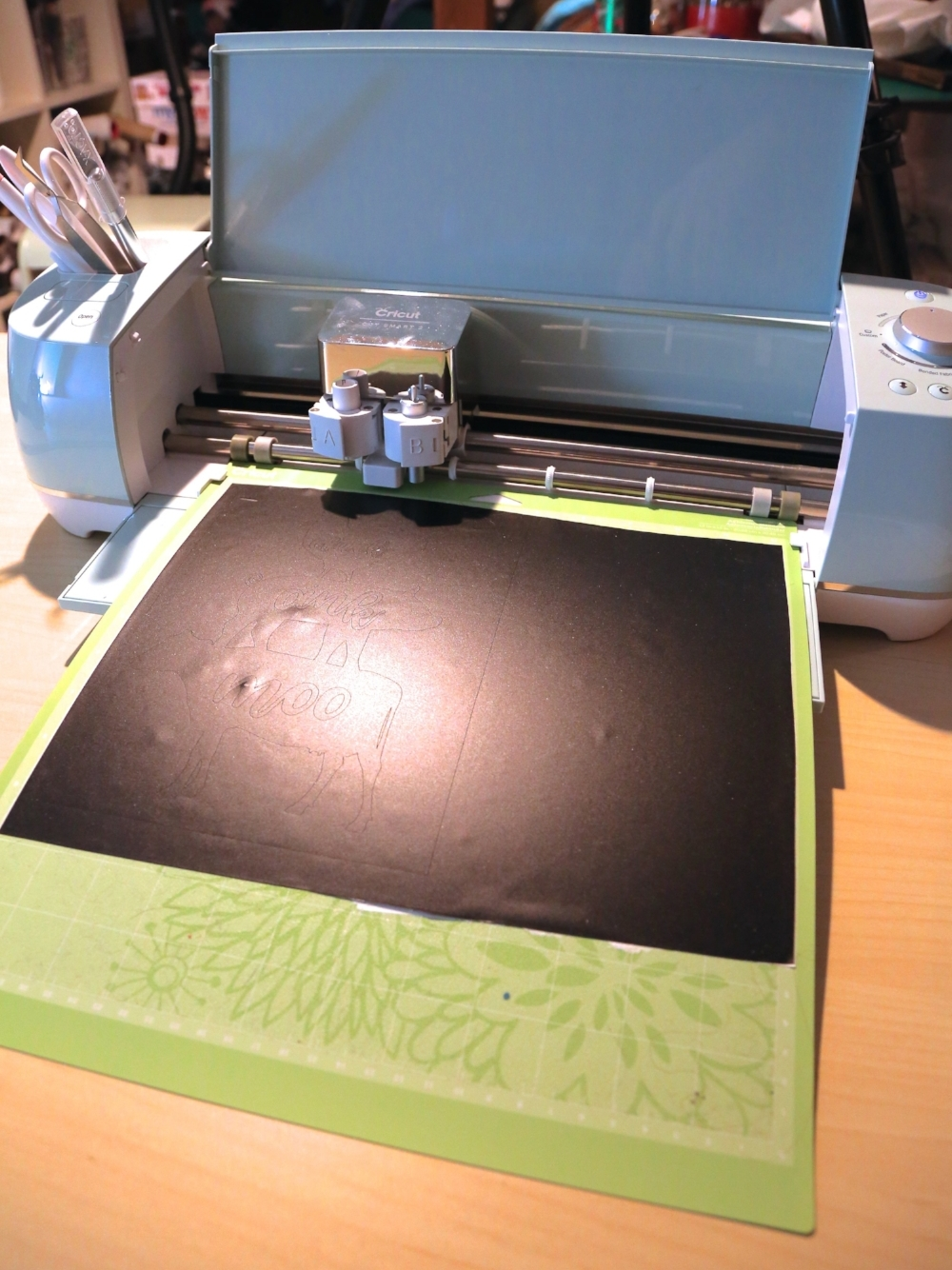 Cricut cutting vinyl