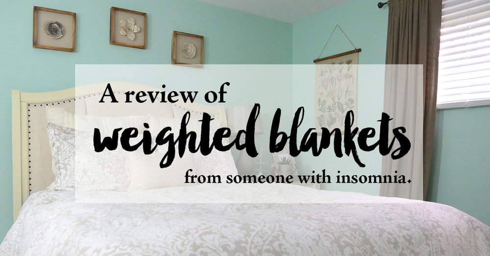 review of weighted blankets from someone with insomnia