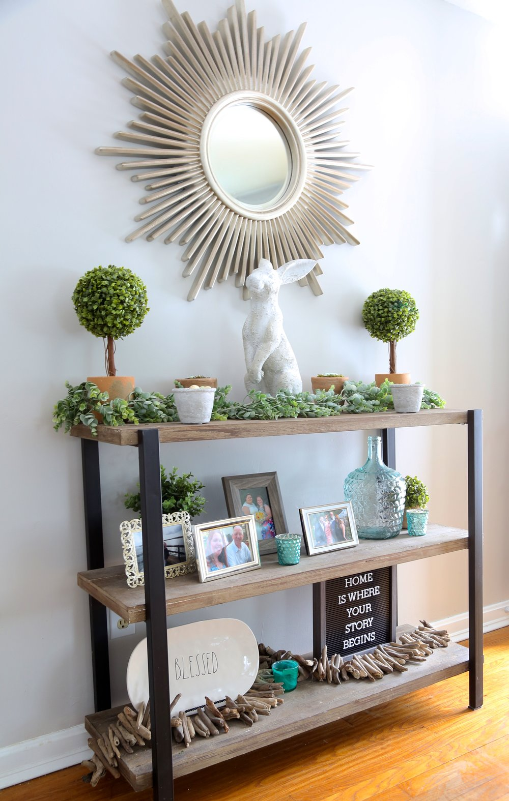 I Love Decorating My Home For Spring And Easter. Living In New England We  Dream All Winter Long About Spring. I Was Actually Happy That Easter Was  Early ...