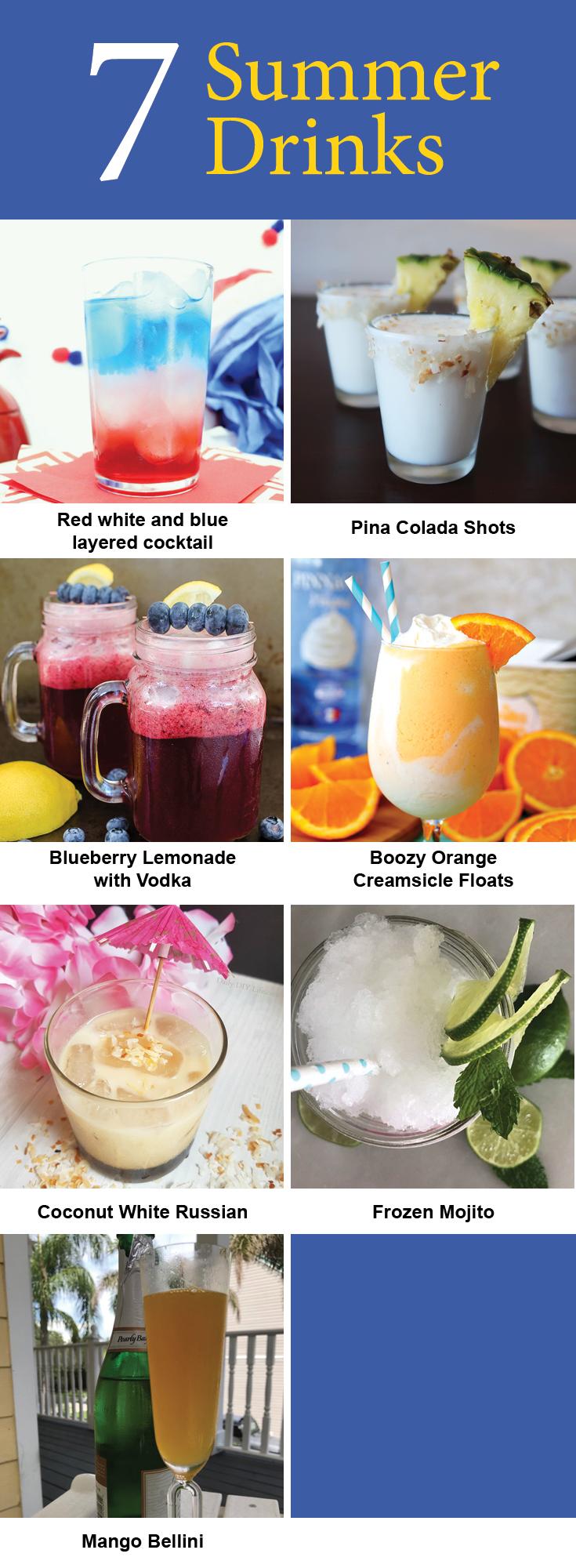 7 Summer Cocktails