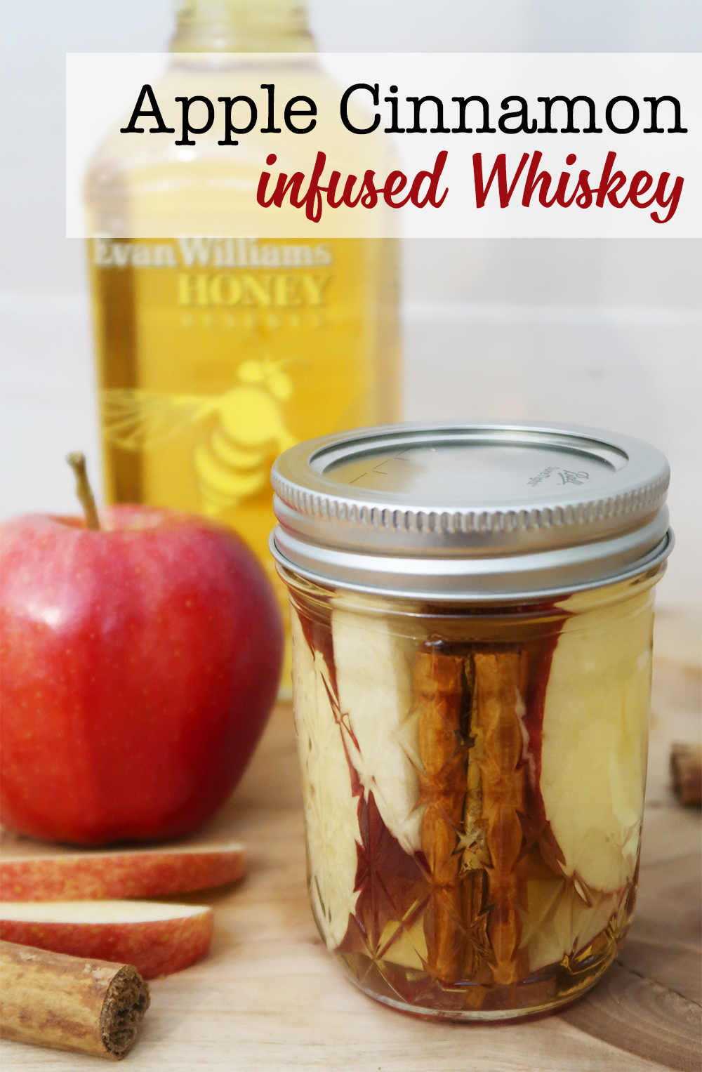 Apple Cinnamon infused whiskey recipe