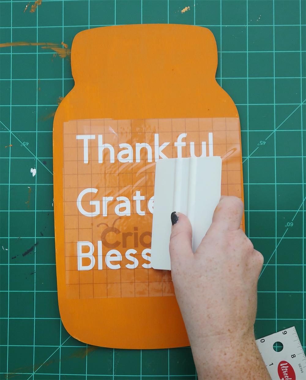 Thanksgiving mason jar sign 7