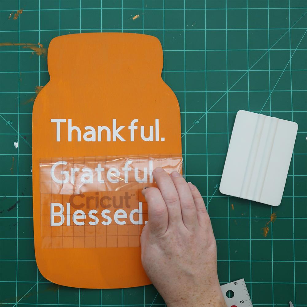 Thanksgiving mason jar sign 8