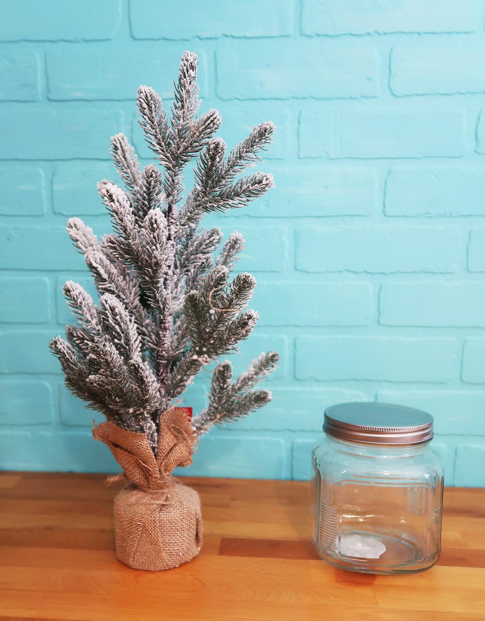Mason Jar Christmas Tree 4