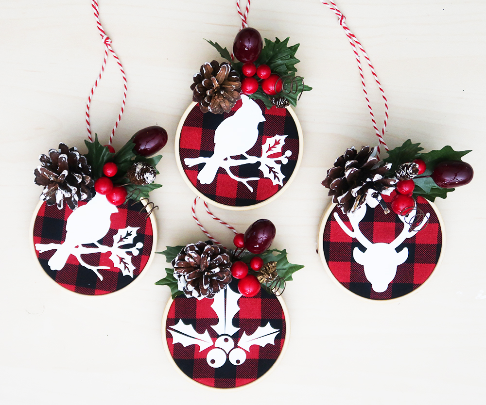 Mini Embroidery Hoop Ornaments 12