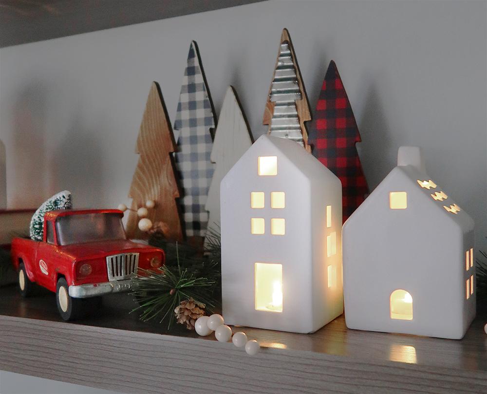 Christmas Floating Shelves 2