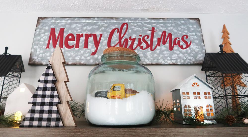 Christmas Floating Shelves 3