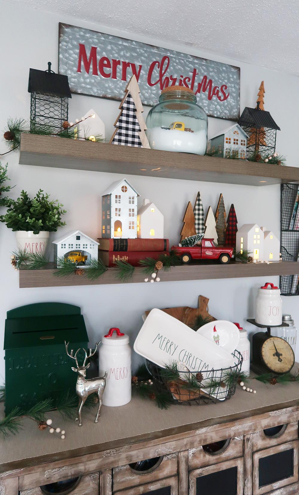 Christmas Floating Shelves 6