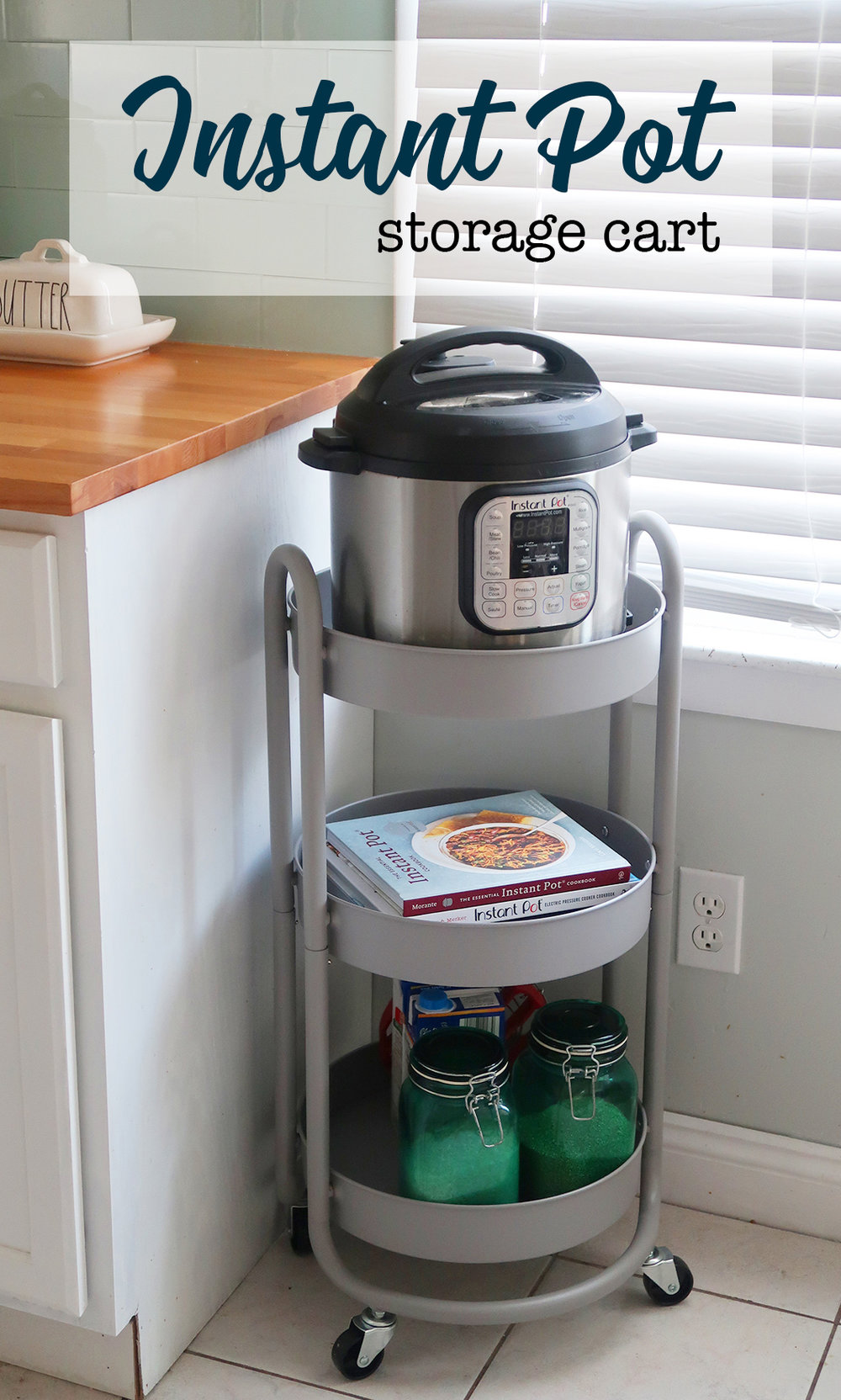 Instant Pot storage cart