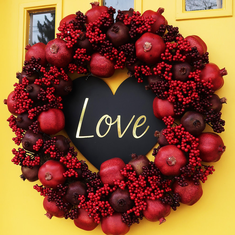 DIY Valentine's Day Sign