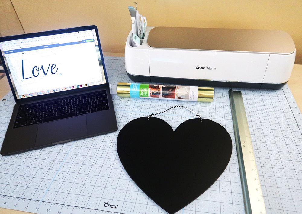 DIY Valentine's Day Sign2