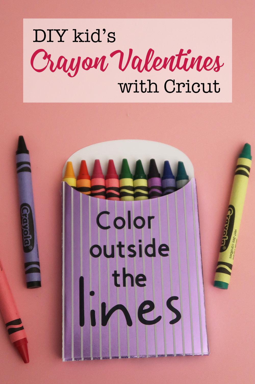 Kids Crayon Valentines