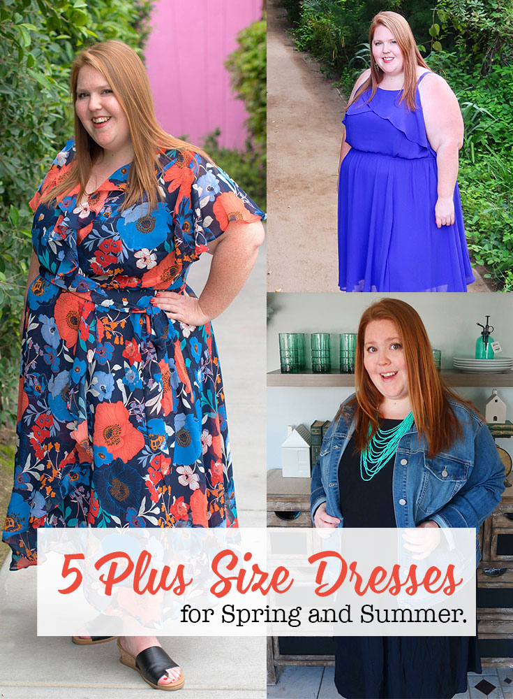 5 plus size dresses for spring and summer