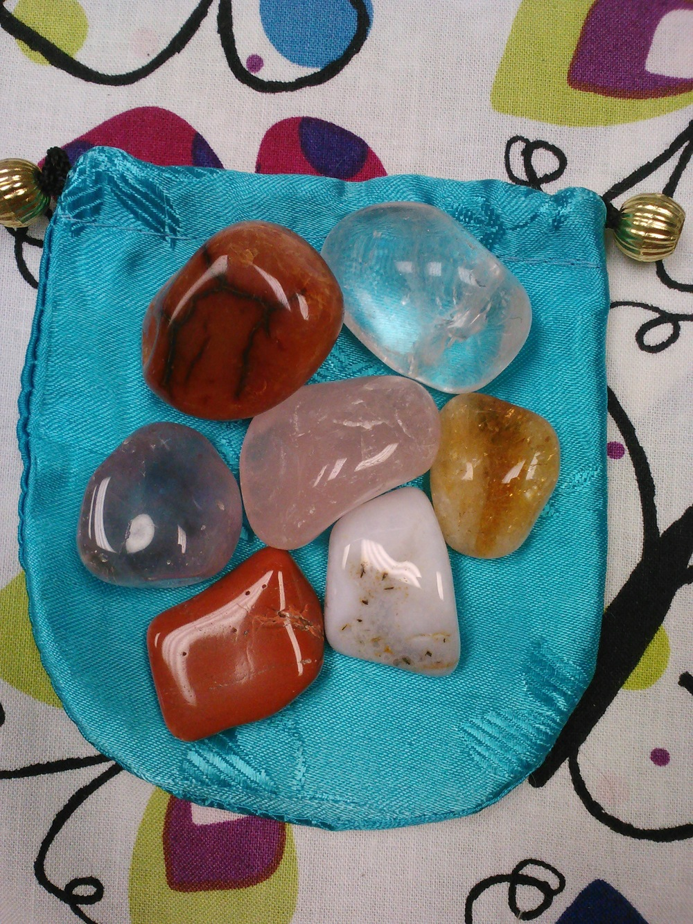 Crystal Chakra Bag © A Celestial Solution