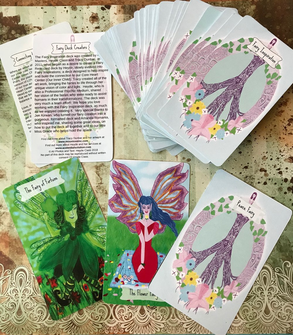 © Heyde Class/A Celestial Solution The Fairy Card Deck