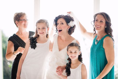 Vancouver Wedding Photography - Bride's Family