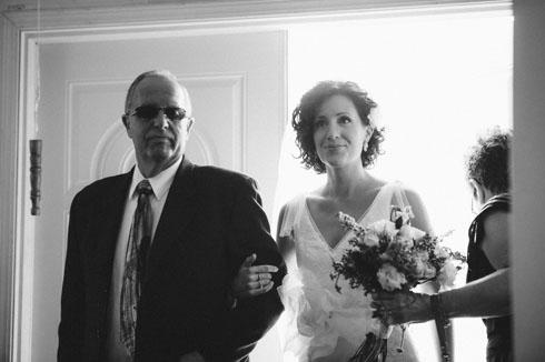 Vancouver Wedding Photographer - Bride Enters