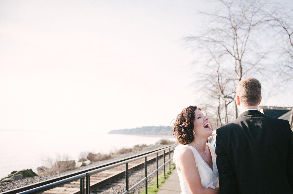 Wedding Portraits at White Rock BC