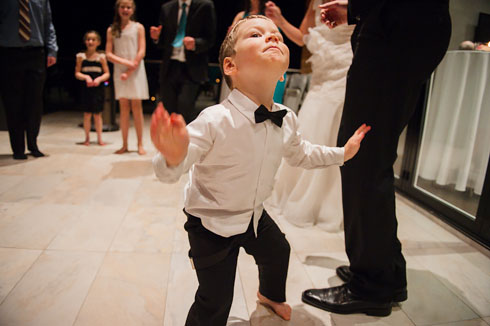 Kids Dancing at Wedding Reception
