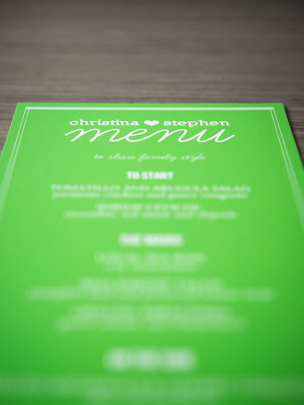 mexican diy destinationwedding - menus