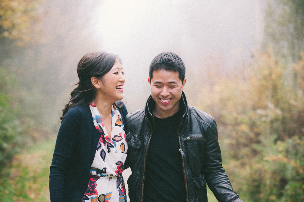 Vancouver engagement session - Pacific Spirit Park