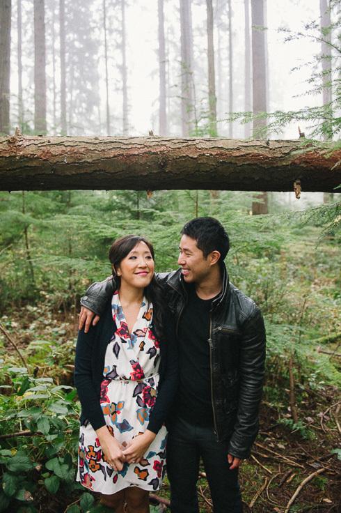 Vancouver engagement session - Pacific Spirit Park