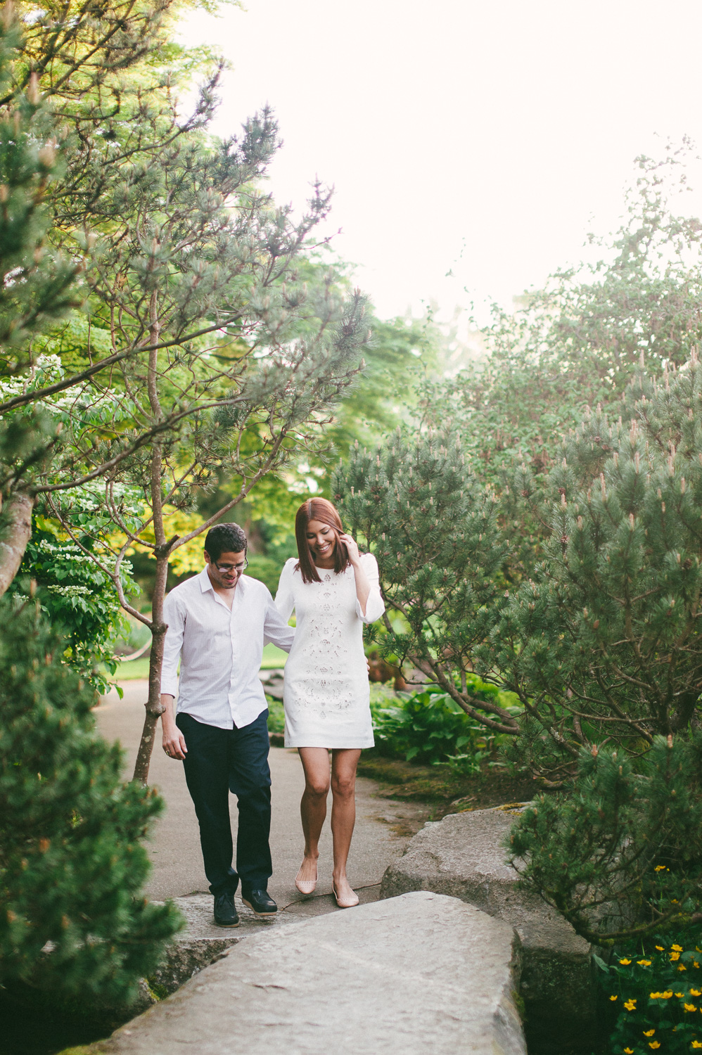 Queen Elizabeth Park engagement
