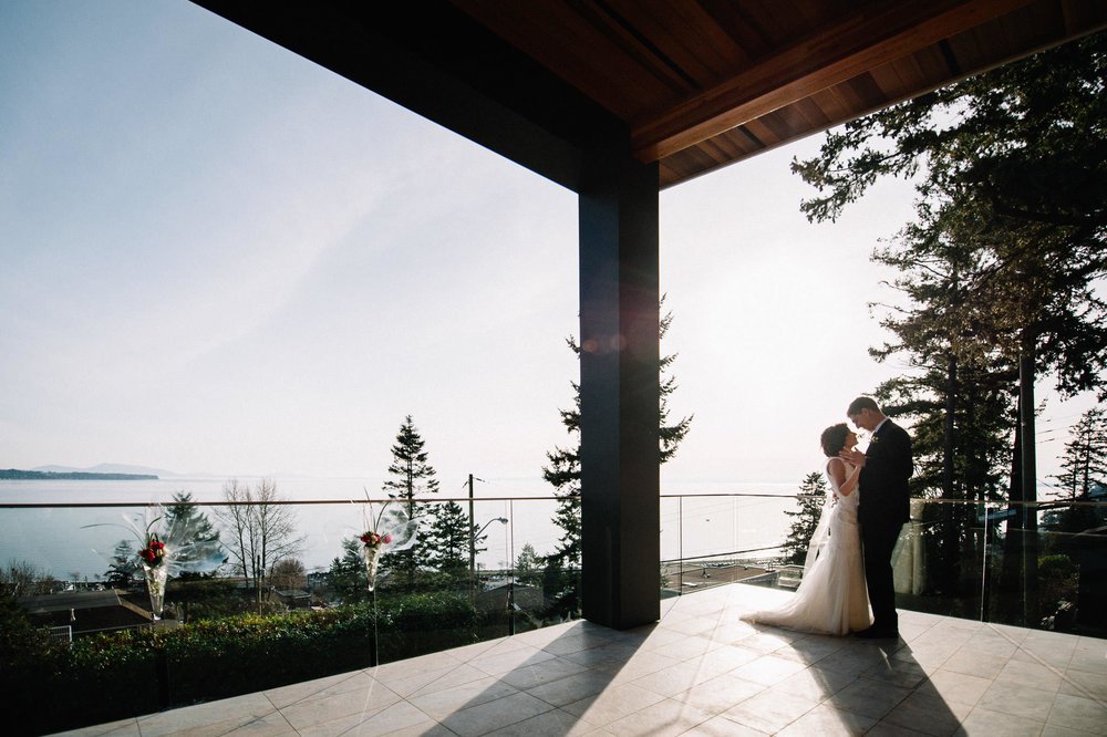 First dance private home wedding vancouver