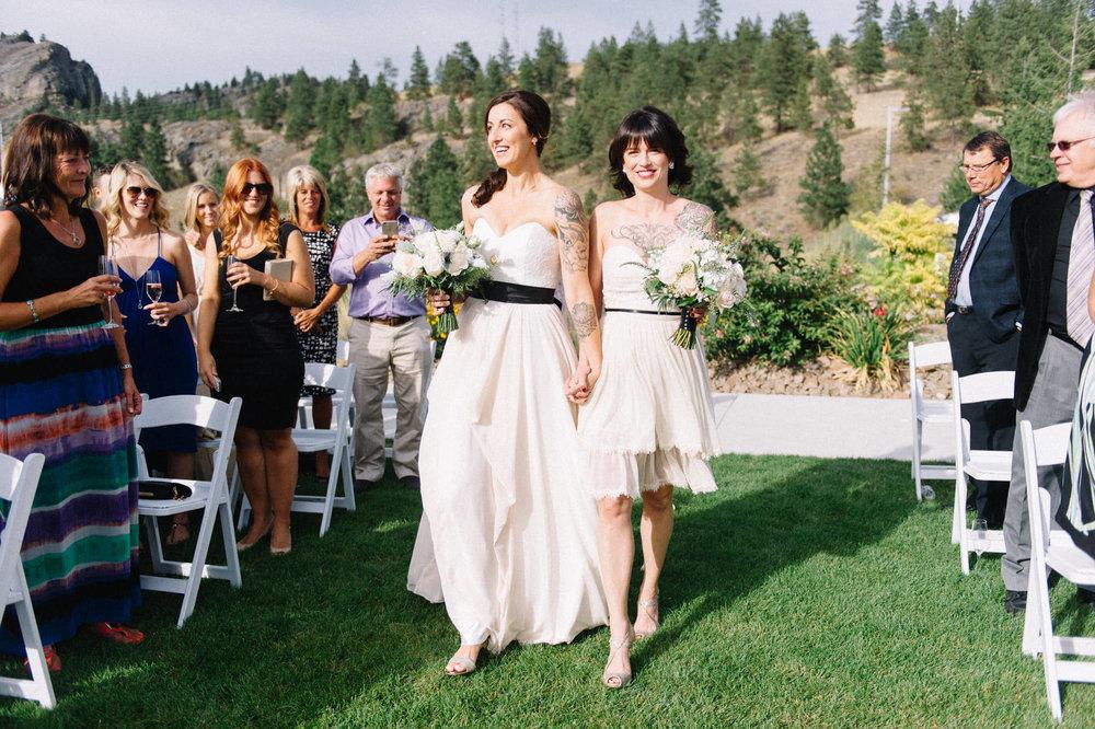 Okanagan LGBT wedding photography