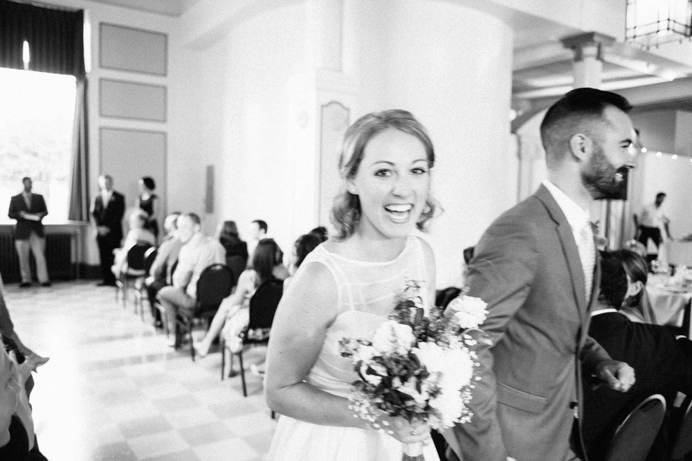 Vancouver Heritage Hall wedding ceremony