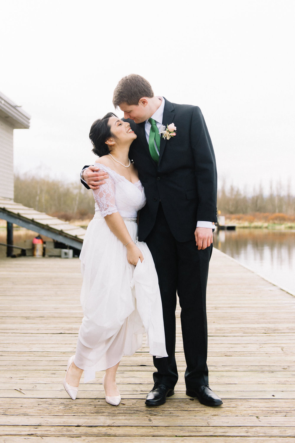 Burnaby Lake Pavillion wedding photography
