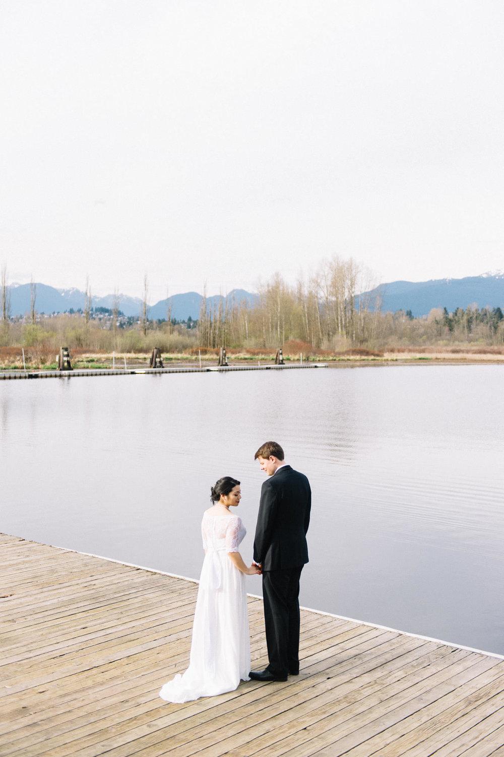 Burnaby Lake Rowing Pavillion wedding