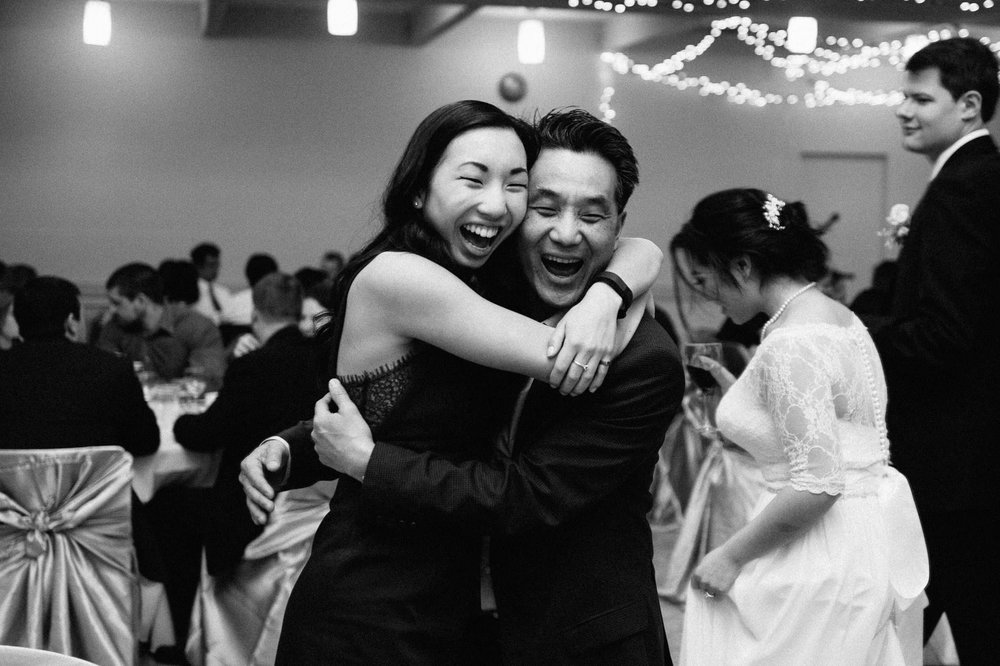 Burnaby Lake Pavillion wedding reception