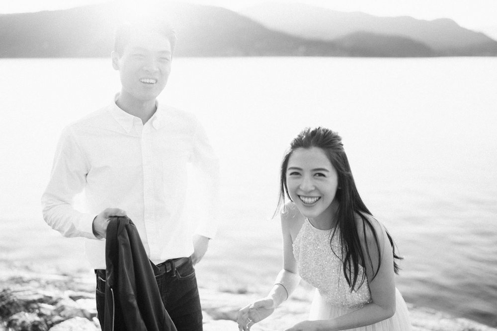 Vancouver pre-wedding photography