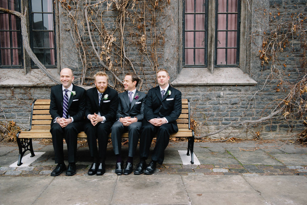 St Basil's Church wedding Toronto
