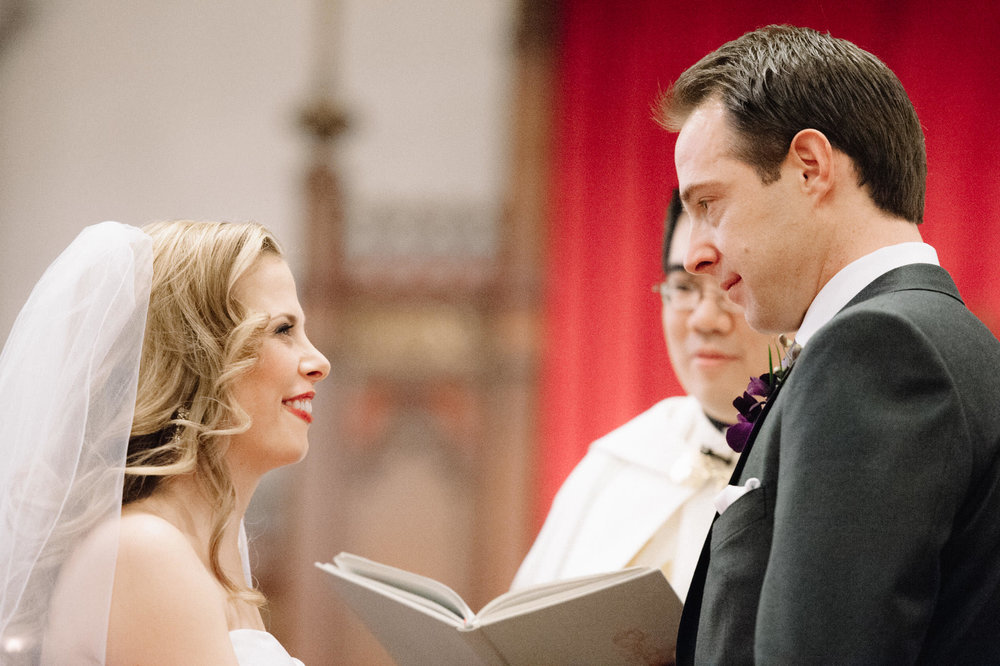 St. Basil's Church wedding