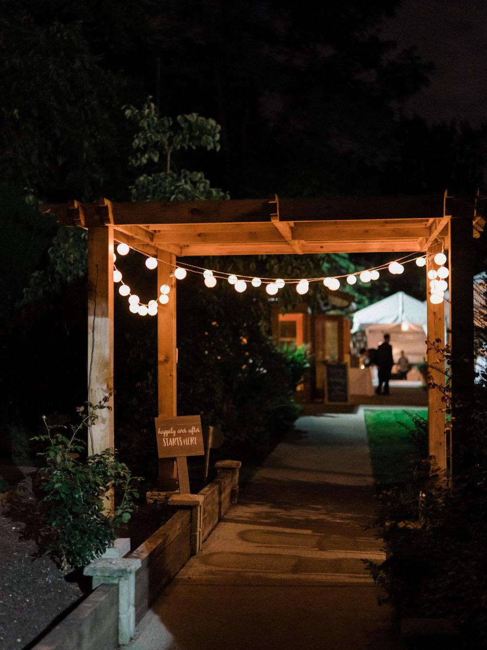 Vancouver Hart House Wedding Reception