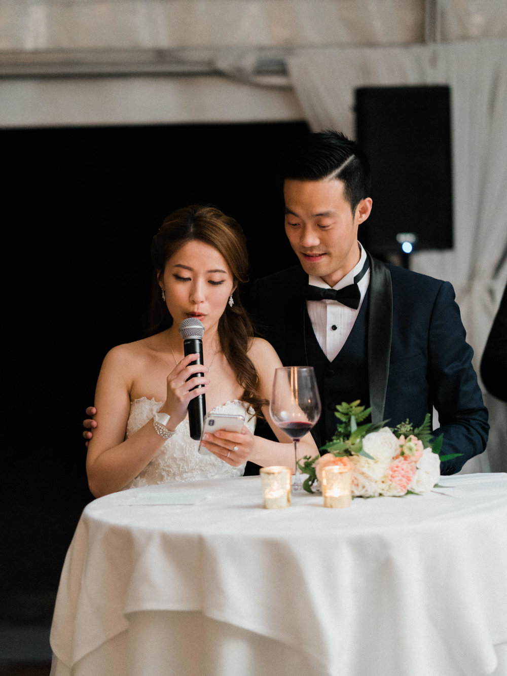 Wedding Reception at Hart House Vancouver