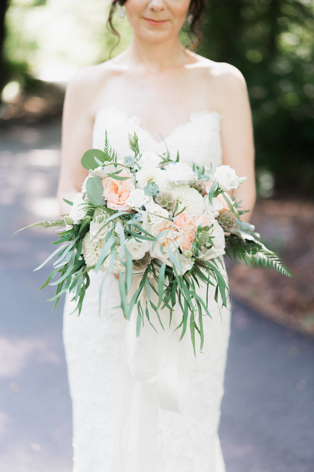 Thomas Hobbs wedding bouquet