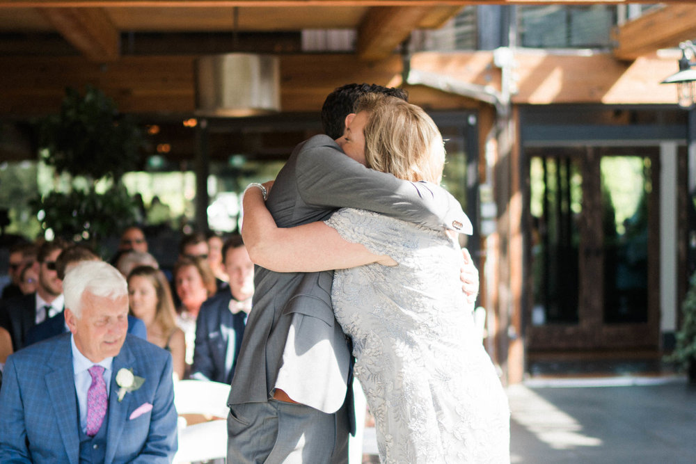 Shaughnessy Restaurant wedding ceremony