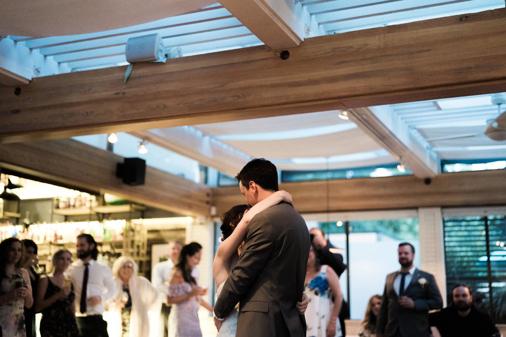 Dance floor at Shaughnessy Restaurant wedding