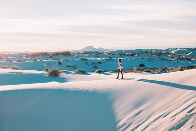 White Sands, New Mexico...this place was magical.