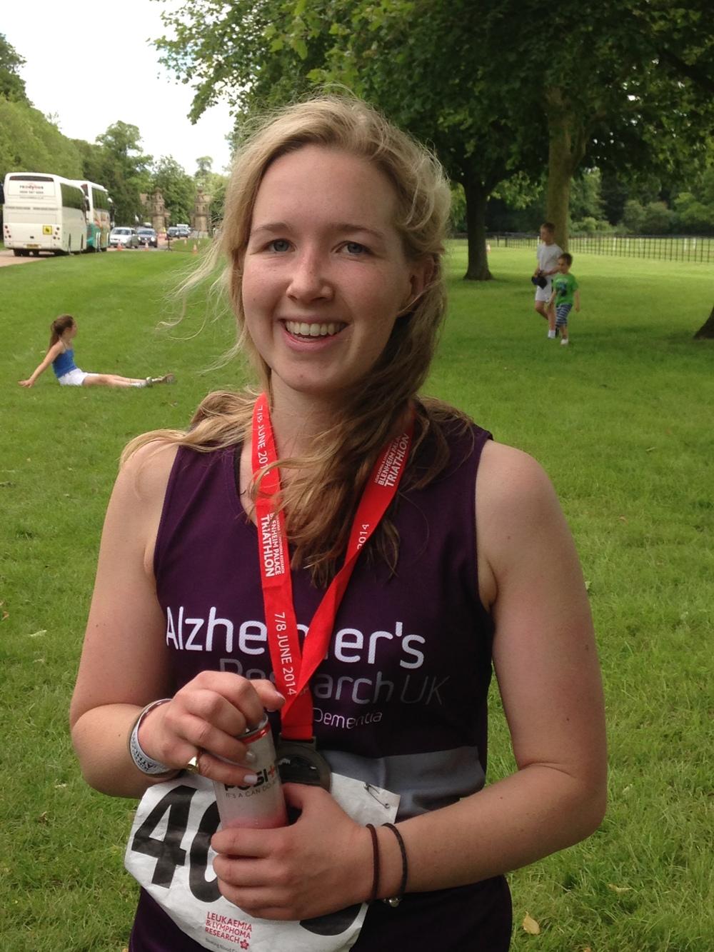 My little triathlete - Anna!