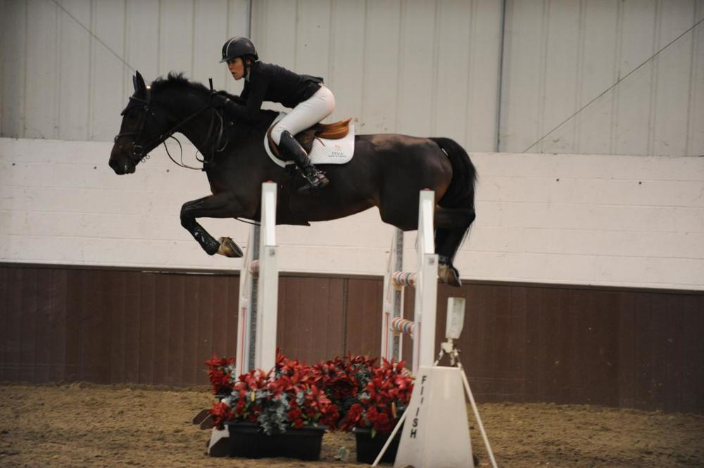 Emma Winter Grade C Jump-off - Addington