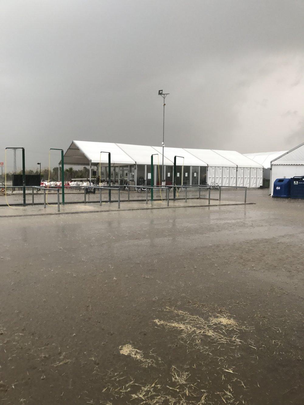 When it rains in Spain!